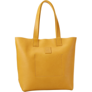 FRYE Stitch Smooth Full Grain Tote Yellow - Bag - $288.00