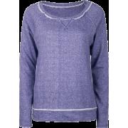 FULL TILT Essential Cut Seam Womens Sweatshirt Royal Blue - Long sleeves t-shirts - $11.97