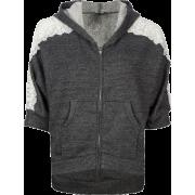 FULL TILT Lace Sleeve Womens Hoodie Charcoal - Camisetas manga larga - $14.97  ~ 12.86€