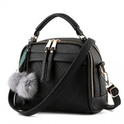 Fantastic Zone Women Leather Handbags Shoulder Bags Top-handle Tote Ladies Bags - Hand bag - $15.00