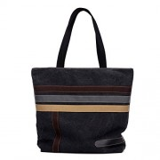 Fantastic Zone Women's Canvas Tote Bag Lightweight Ladies Shoulder Handbag Shopping Purse - Bag - $16.99