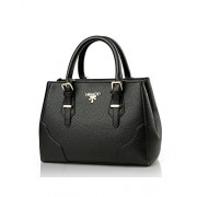 Fashion Classic Shoulder Bags Top-Handle Leather Handbag Tote Purse For Lady Women - Bag - $24.99