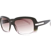Fashion Sunglasses: Brown-Pink Fade/Gray Gradient - Sunglasses - $35.00