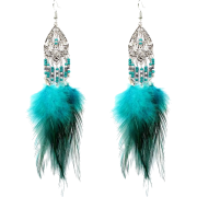 Fashion Geometric Tassel Earrings Simplestreet Shooting Feather Earrings Nhct226 - 耳环 -