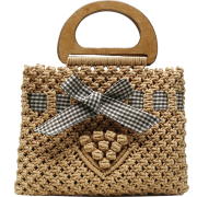 Fashion Woven Bow Portable Bag Nhtg332345 - Torbice - $10.92  ~ 9.38€
