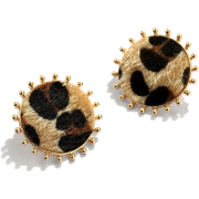 Fashionable Leopard Print Earrings Nhjq284947 - 耳环 -
