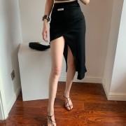 Fashion slits, irregular high waist, thin, all-match solid color skirt with hips - Röcke - $19.99  ~ 17.17€