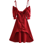 Fashion versatile V-neck pearl inlay cro - Haljine - $29.99  ~ 190,51kn