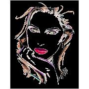 Female Head Beauty Illustration - Illustrations -