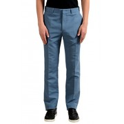 Fendi Men's Blue Flat Front Dress Pants - Calças - $249.99  ~ 214.71€