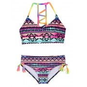 Firpearl Girls Swimsuits Halter Bikini Two Piece Bathing Suit Kids Bikini - Swimsuit - $23.99