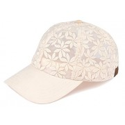 Floral DaisyFlower Print Velcro Hat - Cap - $14.99