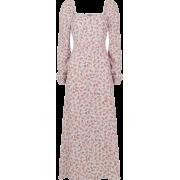 Floral Midi - Dresses -