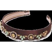Floral Pastel Embellishment Headband - Hat - $72.80