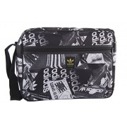 Folder man ADIDAS bag messenger black with shoulder strap VF223 - Akcesoria - $85.69  ~ 73.60€