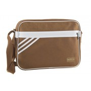 Folder man ADIDAS bag messenger brown with shoulder strap VF215 - Akcesoria - $85.69  ~ 73.60€