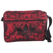 Folder man ADIDAS bag messenger red with shoulder strap VF222 - Accessories - $85.69
