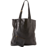 Foley + Corinna Corinna N/S 9904442 Tote Black Croc - Bag - $485.00