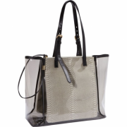 Foley + Corinna Glossy Corinna E/W Shopper Smoke - Bag - $156.00
