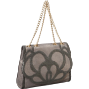 Foley + Corinna Lotus Top Handle Silver Gravel - Bag - $360.00