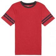 French Toast Boys' Short Sleeve Ringer Tee - Shirts - $3.32