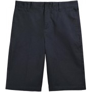 French Toast School Uniform Boys Flat Front Adjustable Waist Shorts, Navy, 8 - Shorts - $14.99