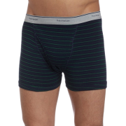 Fruit of the Loom Men's 4-Pack Stripe/Solid Assorted Trunks Assorted - Underwear - $16.29