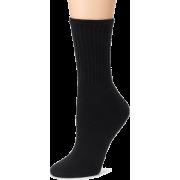 Fruit of the Loom Women's 6-Pack Crew Socks Black - Underwear - $12.00