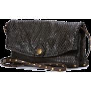 Frye Convertible Clutch In Dark Brown - Bag - $208.00