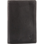 Frye James Small Tumbled Full Grain Wallet Black - Carteiras - $117.50  ~ 100.92€