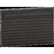 Frye James Small Veg Cut Leather Wallet Dark Brown - Wallets - $127.50