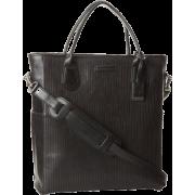 Frye James Veg Cut Leather DB436 Tote Black - Bag - $598.00