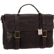 Frye Logan Flap Brief Case Chocolate - Hand bag - $477.95