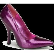Fuchsia Pearlized Glitter Classic Pump - 8 - Shoes - $37.40