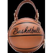 Funny Small Round Women's New Messenger Pink Chain Basketball Bag Nhjz242749 - 手提包 -