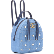 GG Marmont embellished backpack - Mochilas -