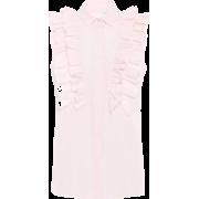 GIAMBATTISTA VALLI Ruffled cotton blouse - Tanks - $516.00