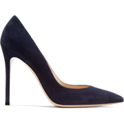 GIANVITO ROSSI 105 suede pumps - Classic shoes & Pumps -