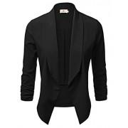 GRACE KARIN Women Lightweight Open Front Blazer Jacket CLAF0216 - Shirts - $16.99