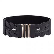 GRACE KARIN Women Vintage Elastic Stretchy Retro Wide Waist Cinch Belt CL706 - Accessories - $6.99