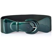 GRACE KARIN Women's Wide Stretchy Cinch Belt Vintage Chunky Buckle Belts S-XXXXL - Belt - $10.99