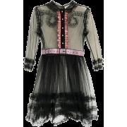 GUCCI EMBELLISHED RUFFLED TULLE DRESS - Vestidos - $3,100.00  ~ 2,662.54€