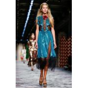 GUCCI EMBROIDERED TULLE DRESS - Haljine - $4,500.00  ~ 28.586,58kn