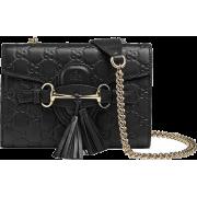 GUCCI EMILY GUCCISSIMA MINI SHOULDER BAG - Mensageiro bolsas - $1,259.99  ~ 1,082.19€