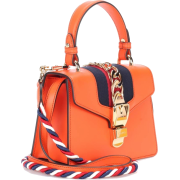GUCCI Sylvie Mini leather crossbody bag - Hand bag - $2,250.00