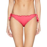GUESS Women's Ruffle Trim Cheeky Brief Bikini Bottom - Swimsuit - $19.69