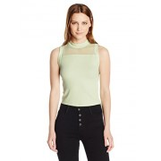 GUESS Women's Sleeveless Selma Crop Top - Shirts - $18.91