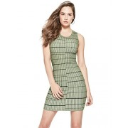 GUESS Women's Sleeveless Wren Plaited Stripe Dress - Dresses - $42.90