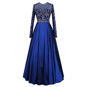 Gardenwed See Through Beaded Long Sleeves Prom Dress Formal Dress Reception Dress - Vestiti - $239.99  ~ 206.12€