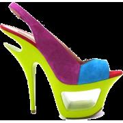 Gianmarco Lorenzi heels - Platformke -